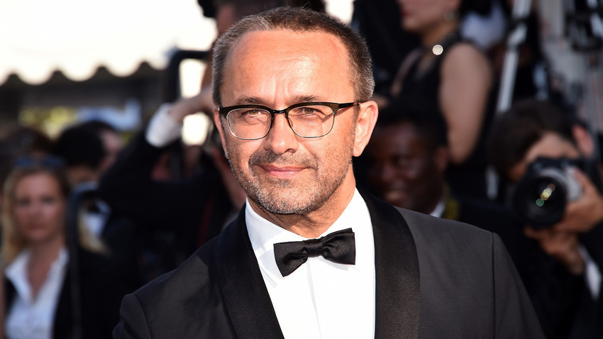 Swjaginzew im Sommer 2017 beim Filmfestival in Cannes: Sein neuester Film
