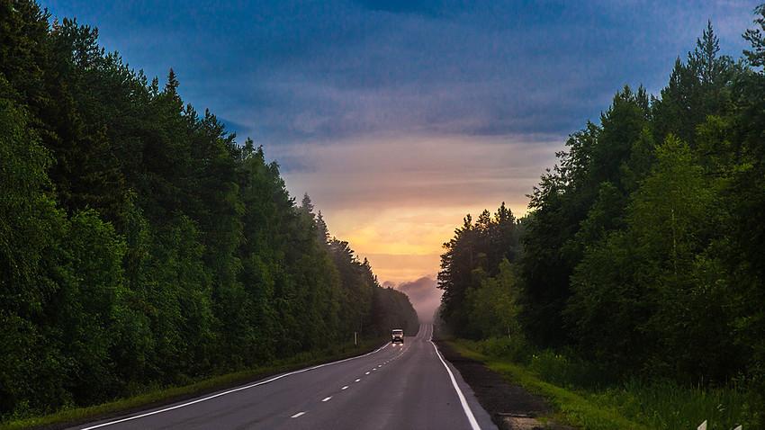Menjelajahi Ural Utara dan Perm Velikaya.
