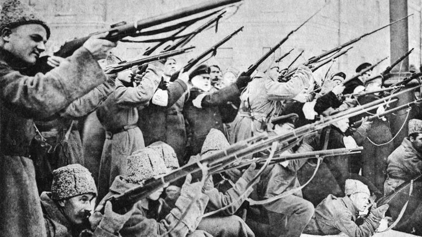 Aleksandra Stankevich (Kim Aerim) dieksekusi pada 1918.
