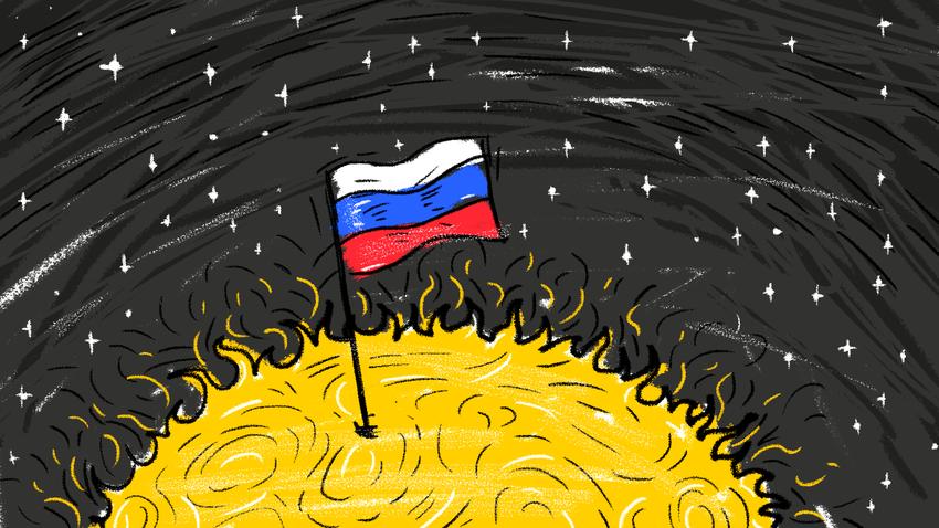 Према егзотичним схватањима Валерија Чудинова, чак је и Сунце припадало старим Русима, да и не говоримо о сваком кутку планете Земље.