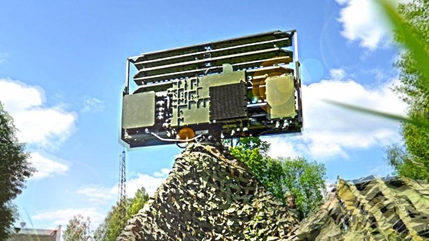 "Радарска станица 1Л122-Е2 ""Гармонь"""