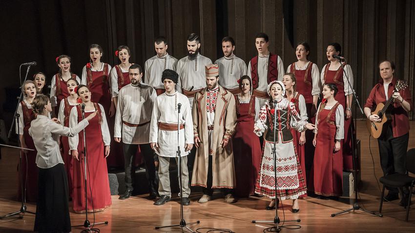 Концерт Хора слависта у Руском дому