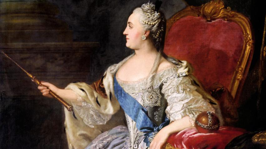 Fjodor Rokotov: Katarina Velika (1763).