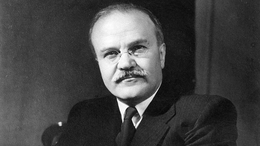 Съветският политик Вячеслав Михайлович Молотов (1890 - 1986), 1946 г.