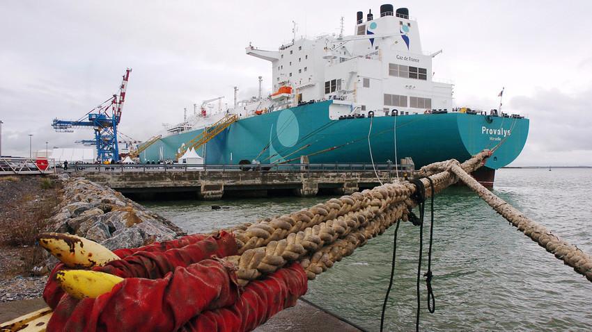 """2. ožujka drugi tanker """"Provalys"""" s ruskim plinom stigao je u Boston."""