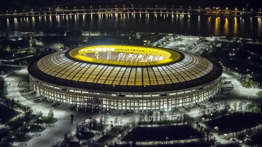 Stadion yang menjadi inspirasi bagi Stadion Gelora Bung Karno di Jakarta ini siap menjadi tuan rumah bagi pertandingan pembuka pada Piala Dunia FIFA 2018™.