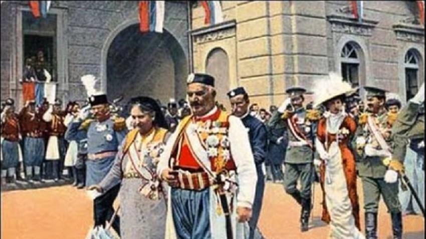 Дан проглашења Црне Горе за краљевину, Цетиње, 28. 08. 1910.