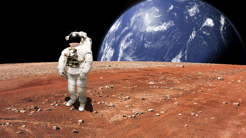 It seems that Russia is eager to join the Mars race - at least, according to Putin