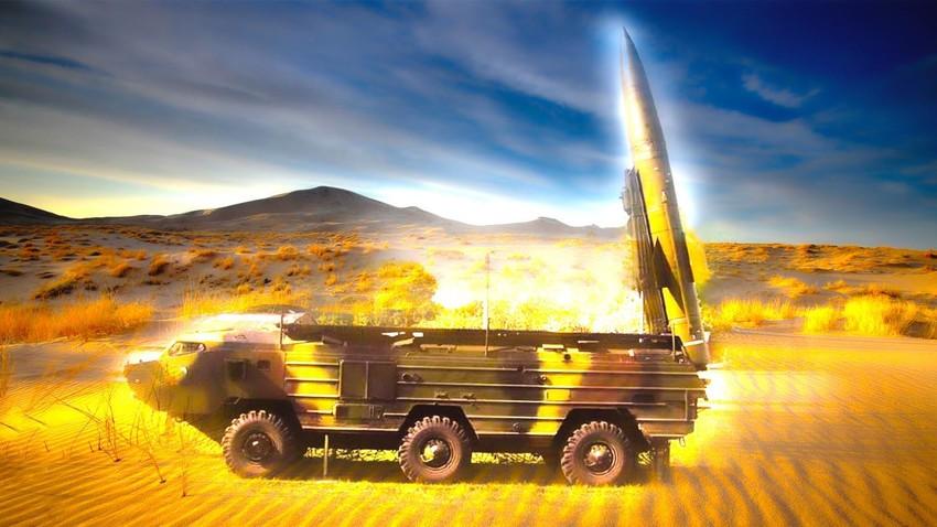 """Ракетни систем 9K79 """"Точка"""" је приказао завидне резултате на Блиском Истоку,"""