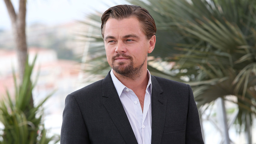"""Segundo DiCaprio, """"deve haver mais filmes sobre a história russa porque há muitas histórias dignas de Shakespeare"""""""