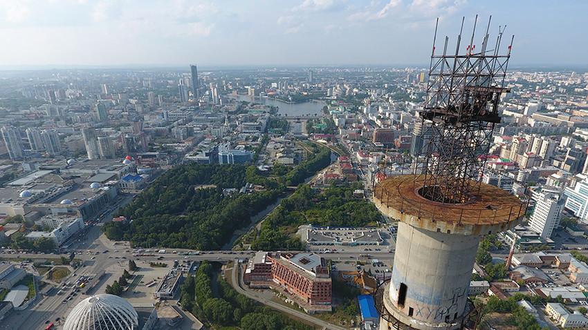 Телевизиската кула во Екатеринбург