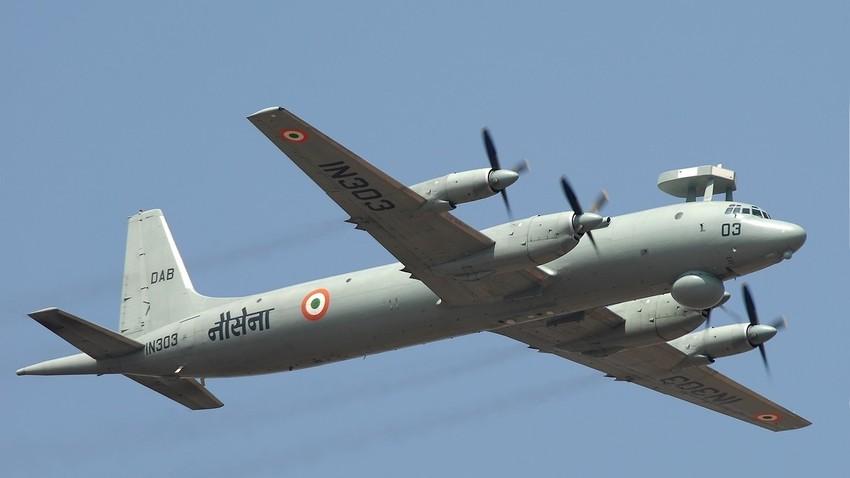 Il-38 v lasti indijske vojske.