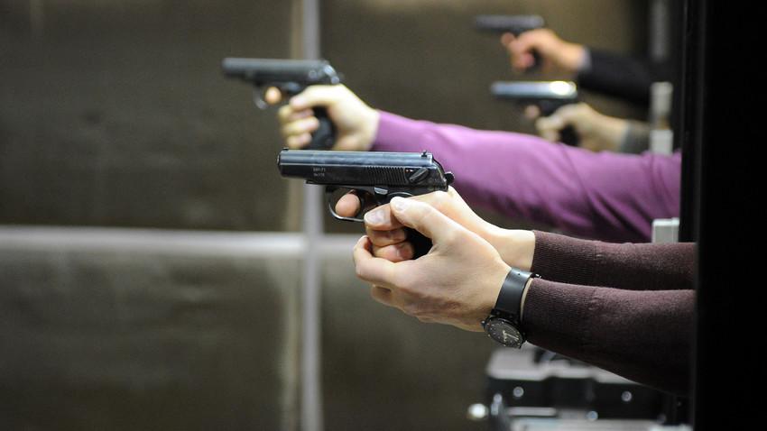 Legalização de armas é uma perspectiva improvável para a Rússia, pelo menos nos próximos anos.