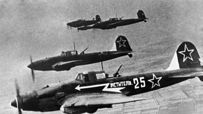Il-2 v zraku, 1945.