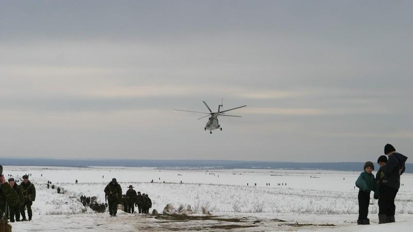 Vojaške vaje zračno-desantnih sil leta 2015.