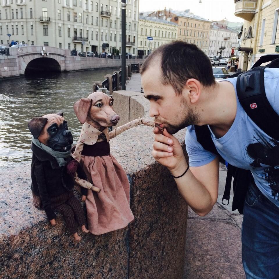 Manchmal rufen die Fotosessions auf der Straße geradezu schockierend positive Reaktionen der Passanten hervor.