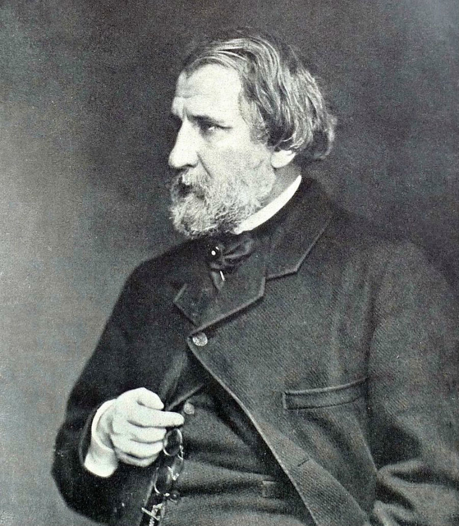 Ivan Tourgueniev en 1871
