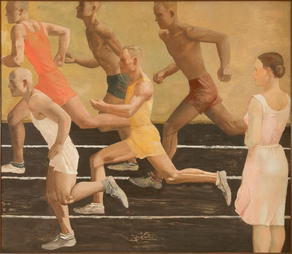 'Carrera' (1932-1933), obra de Alexánder Deineka.