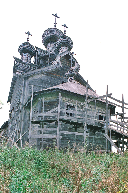 Iglesia de la Epifanía, vista sureste. 28 de agosto de 2006.