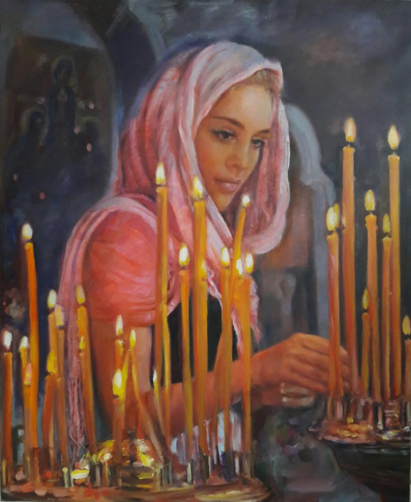 """Ceremonia ortodoxa"", Elena Krasnova."