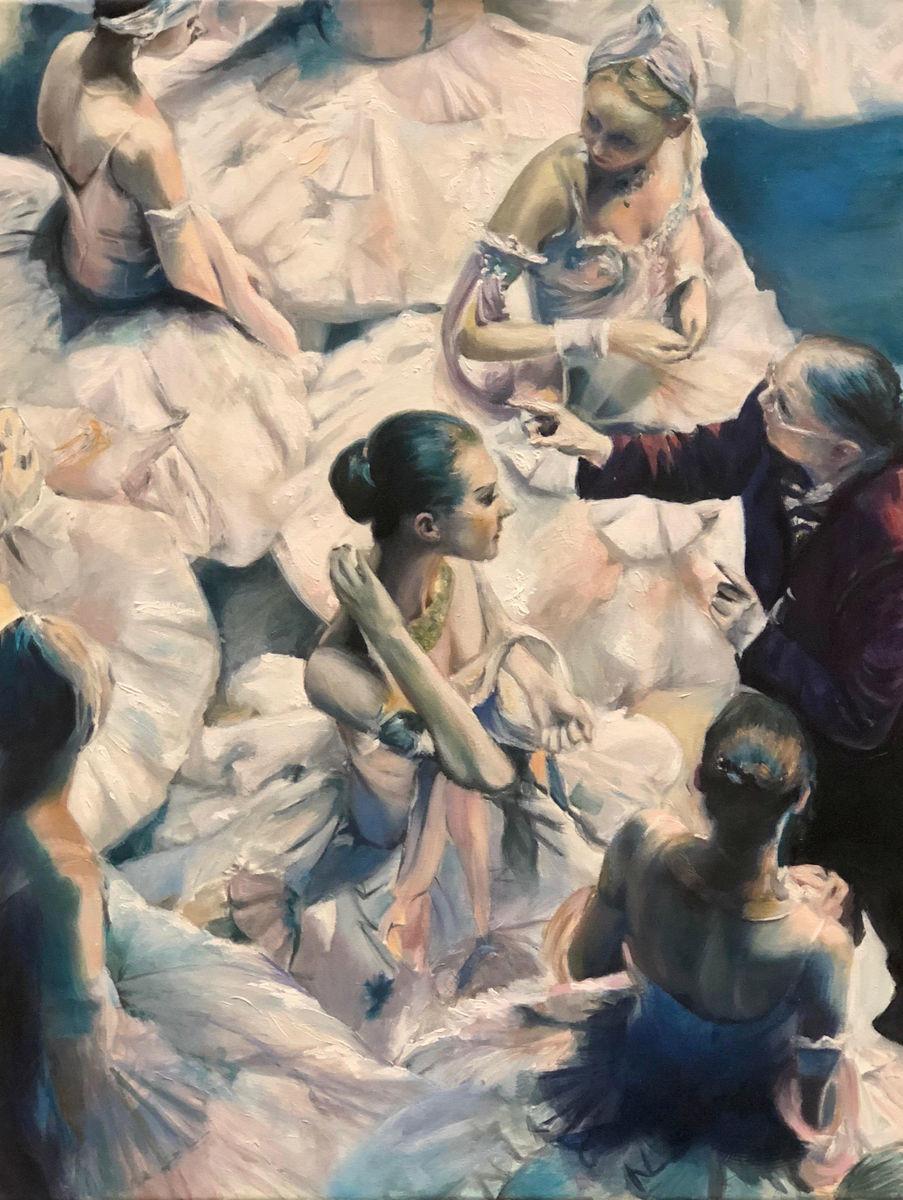 """""""El Bolshói"""", María José Romero."""
