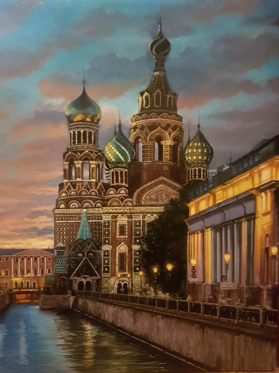 """""""Catedral de la Resurrección de Cristo (San Petersburgo)"""", María José Fole."""
