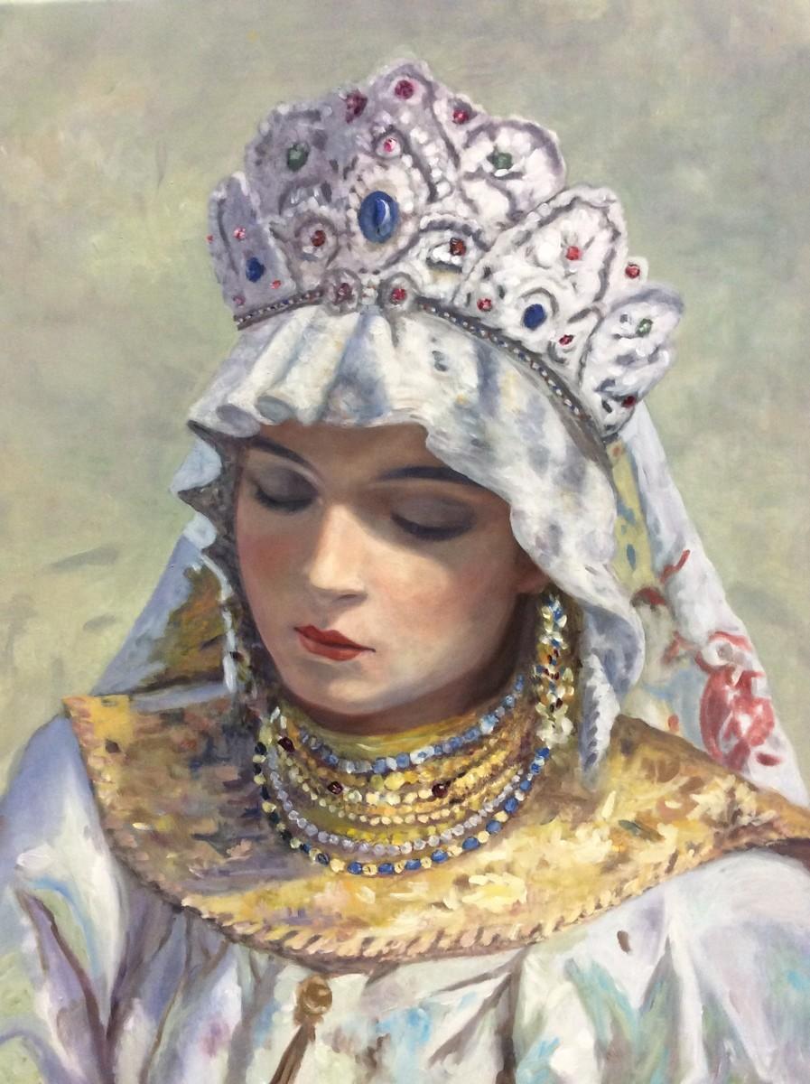 """""""Kokóshnik"""", Olga Sánchez."""