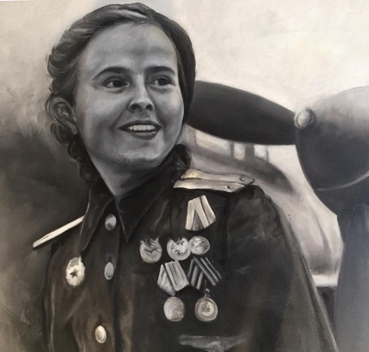 """Marina Mijáilovna Raskova"", Teresa Valcarcel."