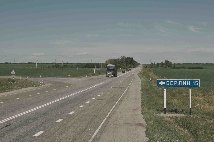 Hier geht's lang - nach Berlin im Ural!