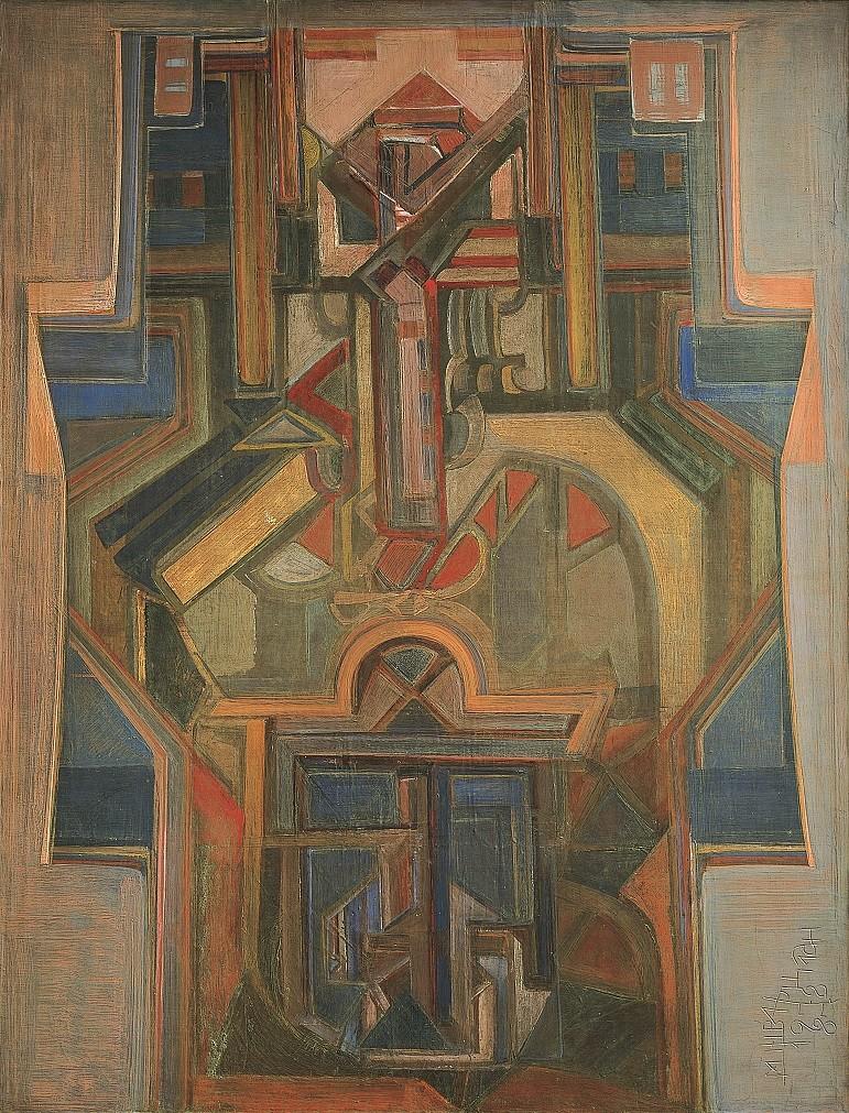 'Hieratismo de esperanza', Mijaíl Schwartzman.