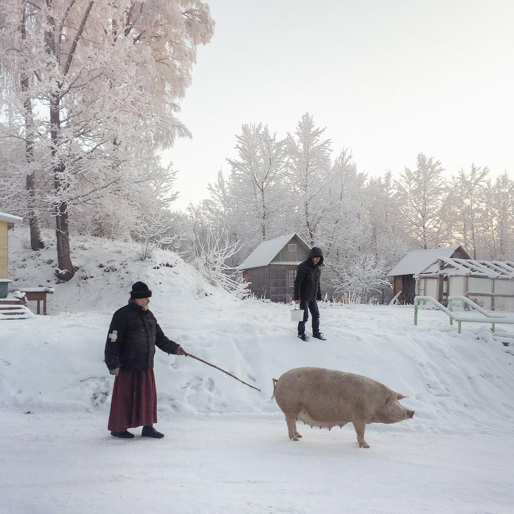 Dedóvichi, región de Pskov.