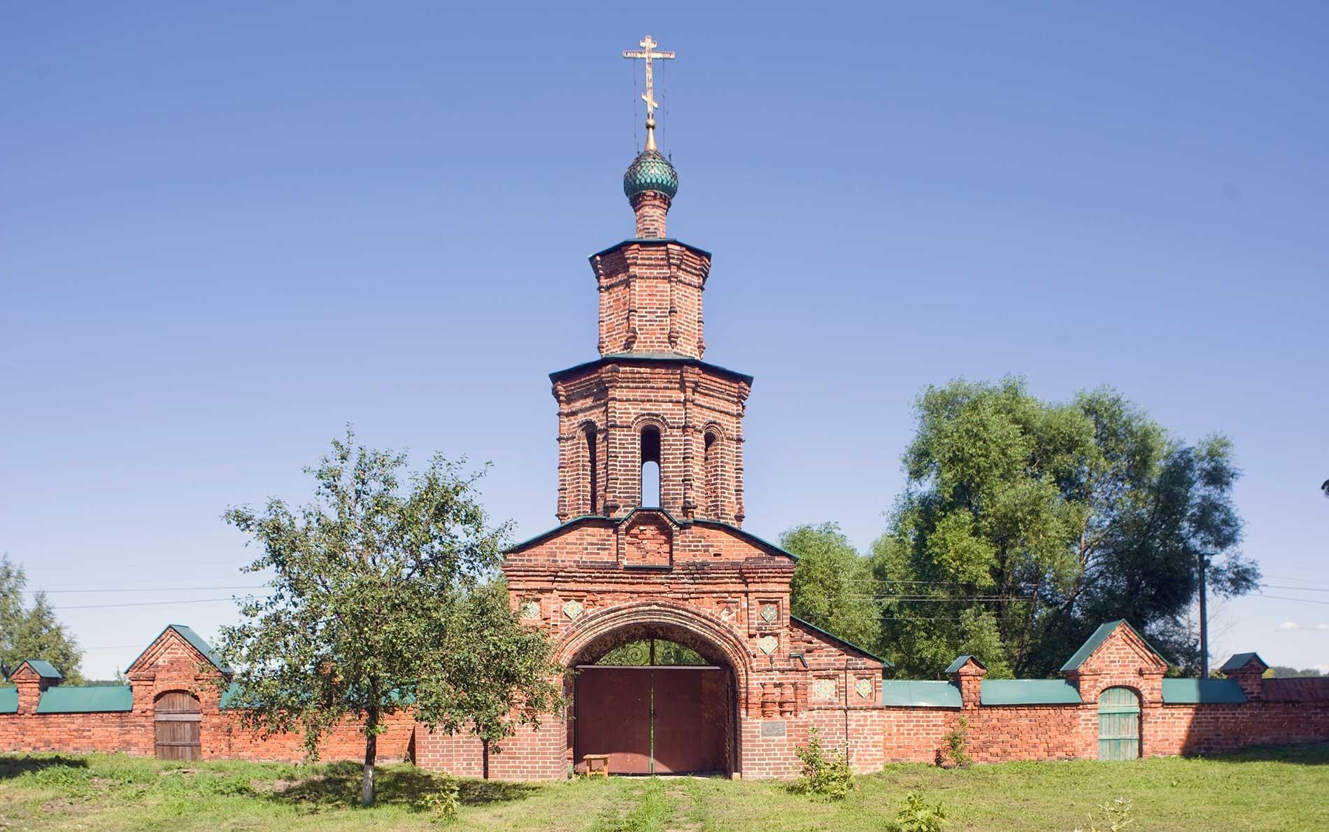 Conjunto Koróvniki. Puerta Santa. Vista Oeste. 15 de agosto de 2017.