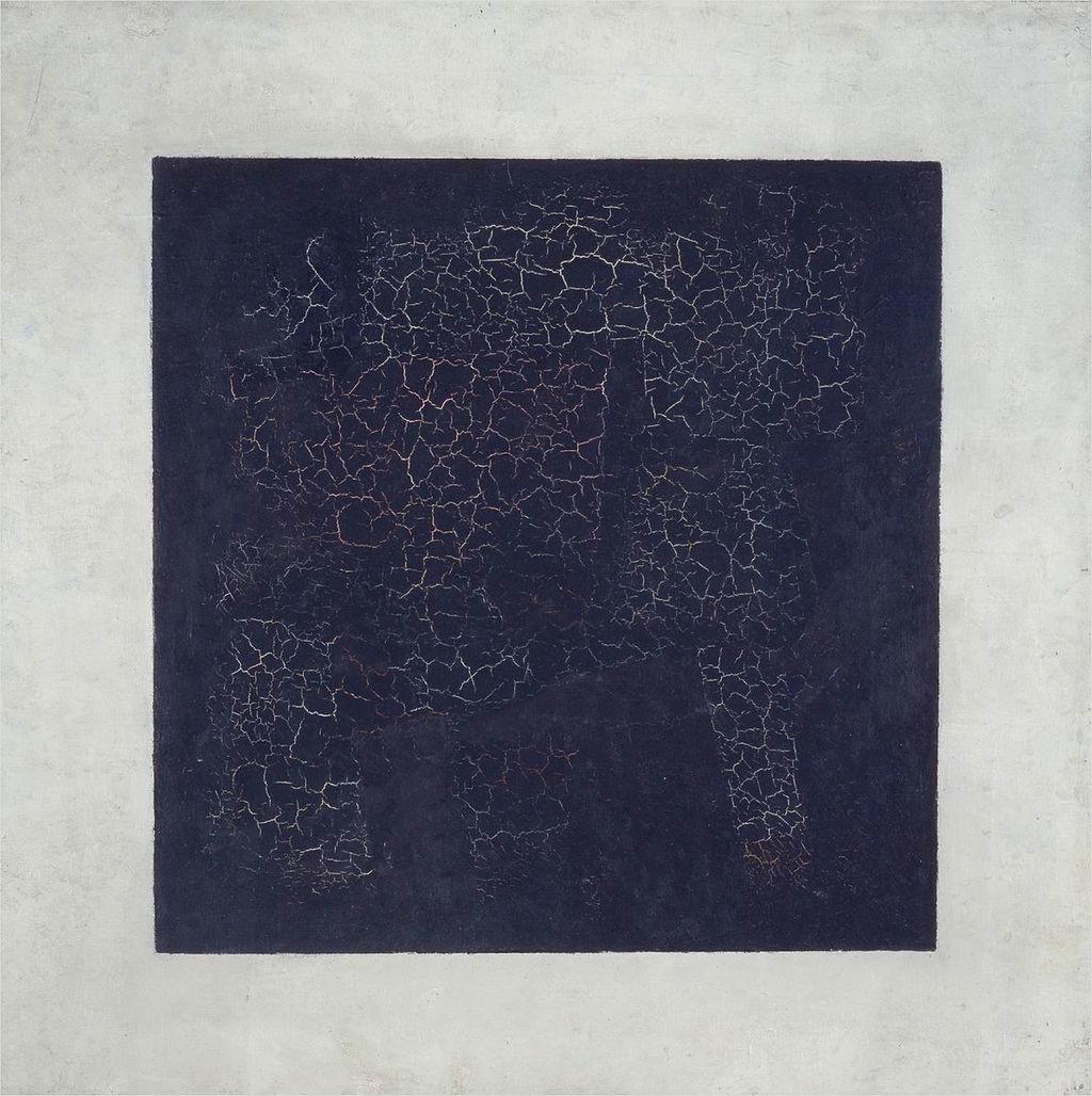Kazimir Maljevič, Črni kvadrat.