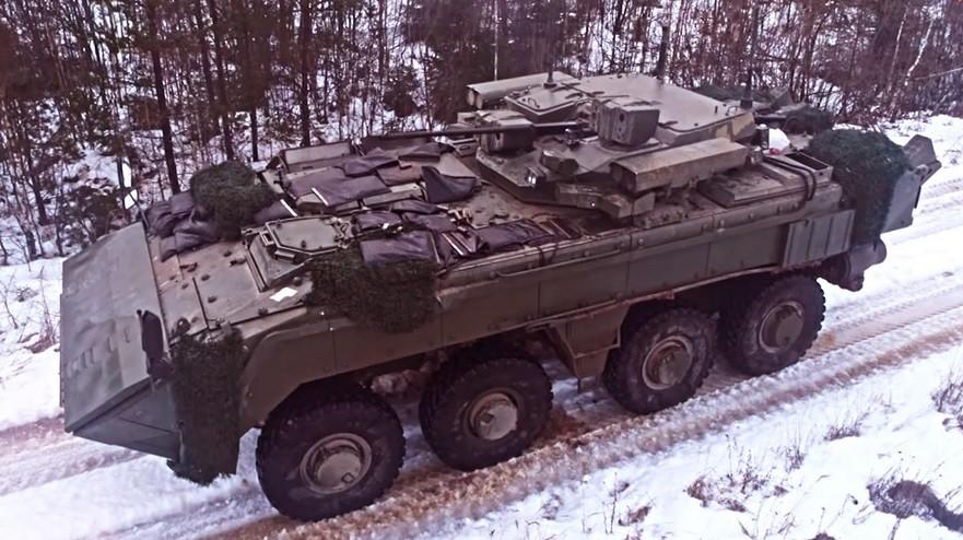 Različica K-17, bojno vozilo pehote