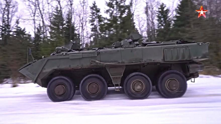 Različica K-16, oklepni transporter