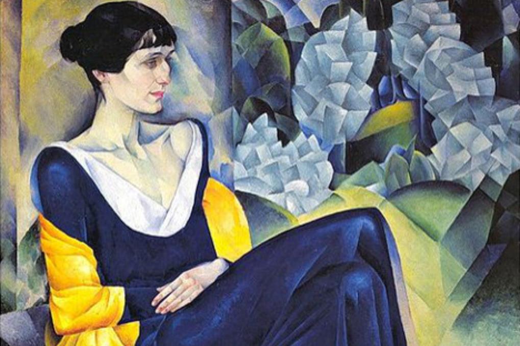 Natan Altman: Portert Ane Ahmatove (1914).