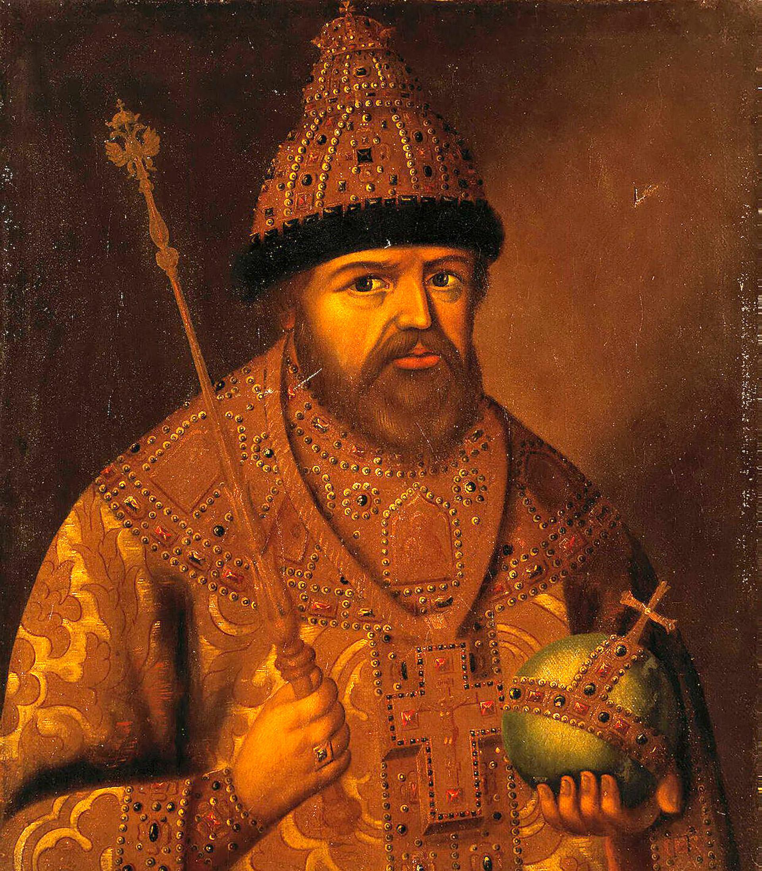 Potret Tsar Aleksey I Mikhailovich.
