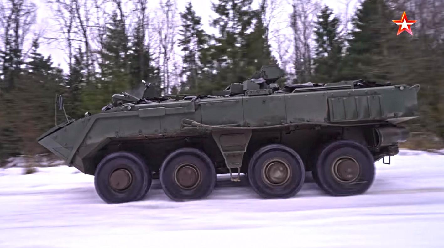 Varijanta K-16, oklopni transporter
