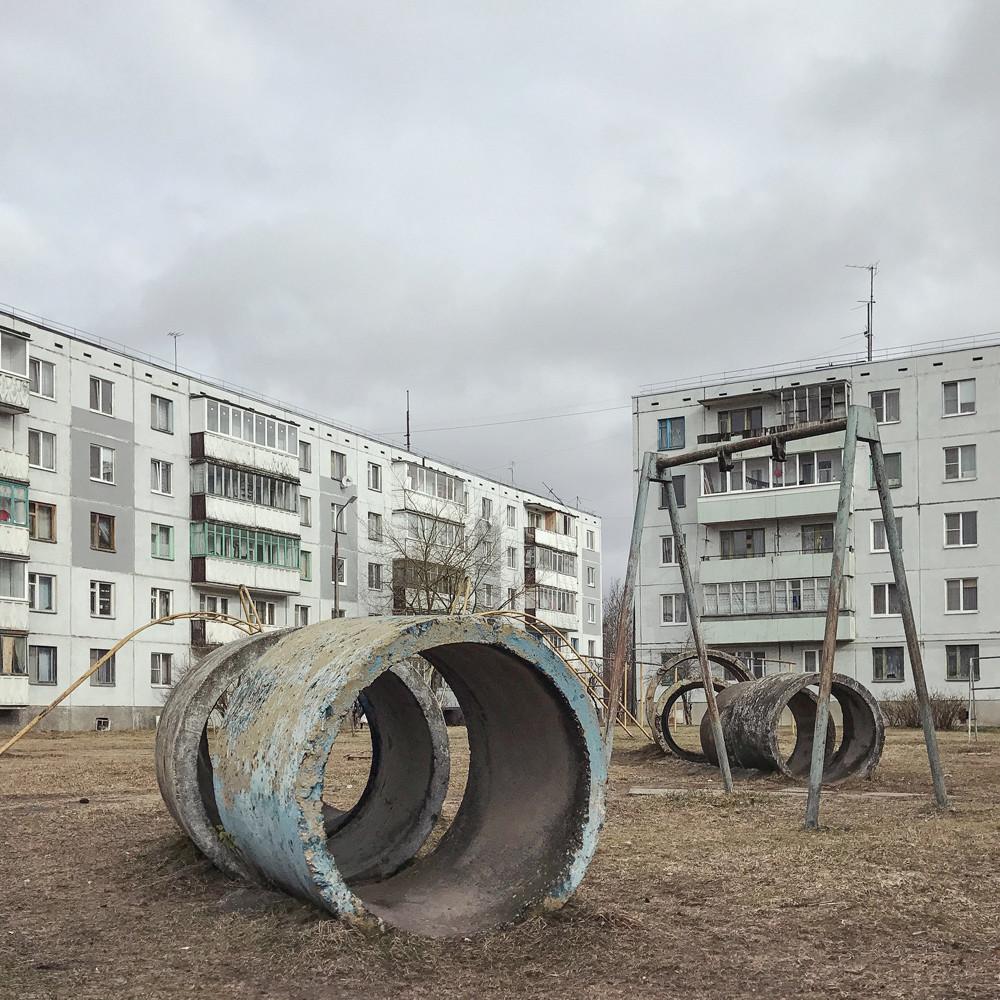 Станица Љубјатово, Псков
