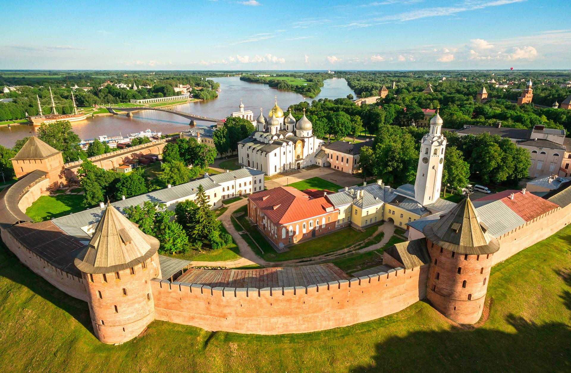 Der älteste Kreml Russlands in Welikij Nowgorod
