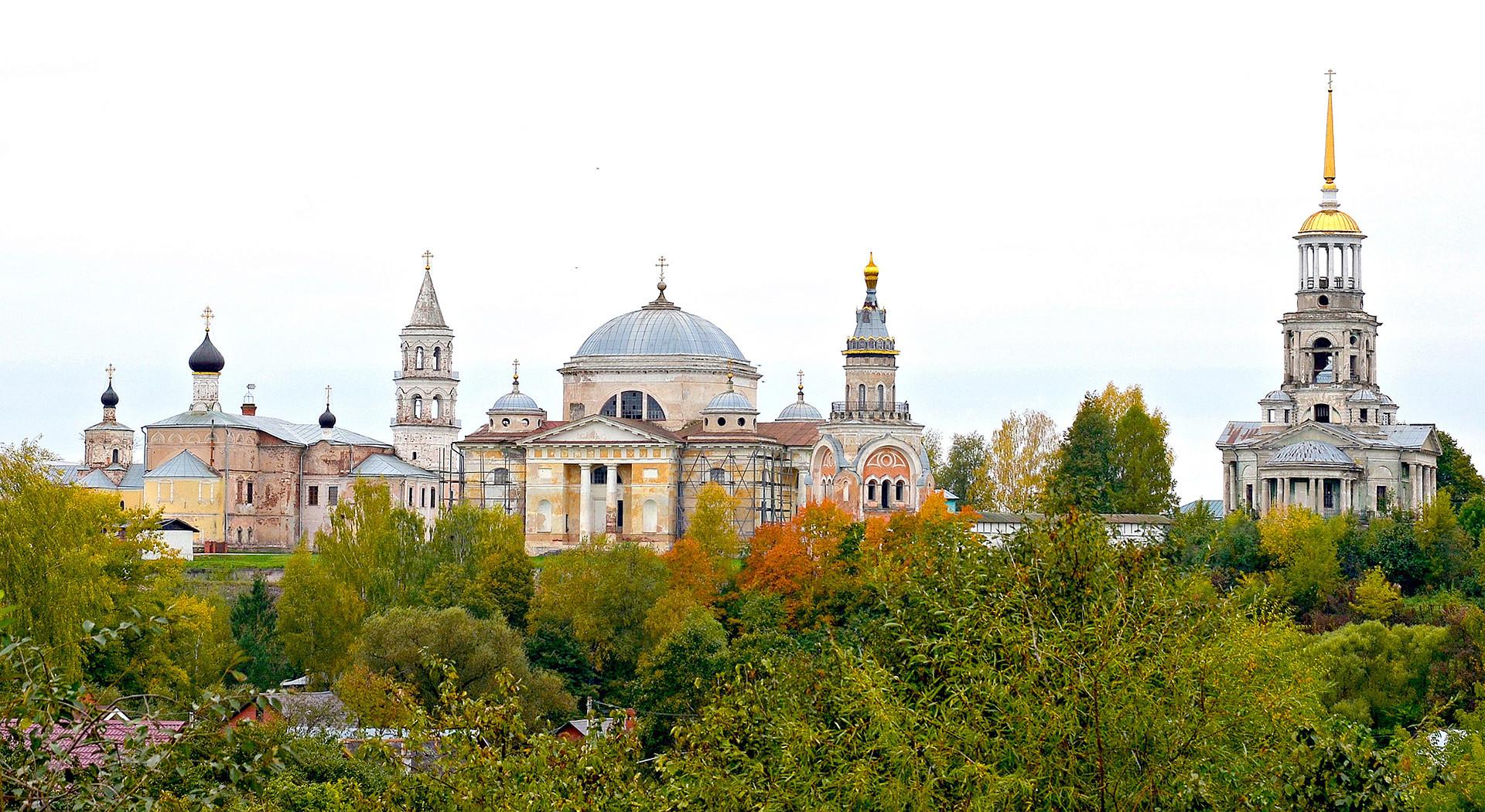 Das Boris-und-Gleb-Kloster in Torschok