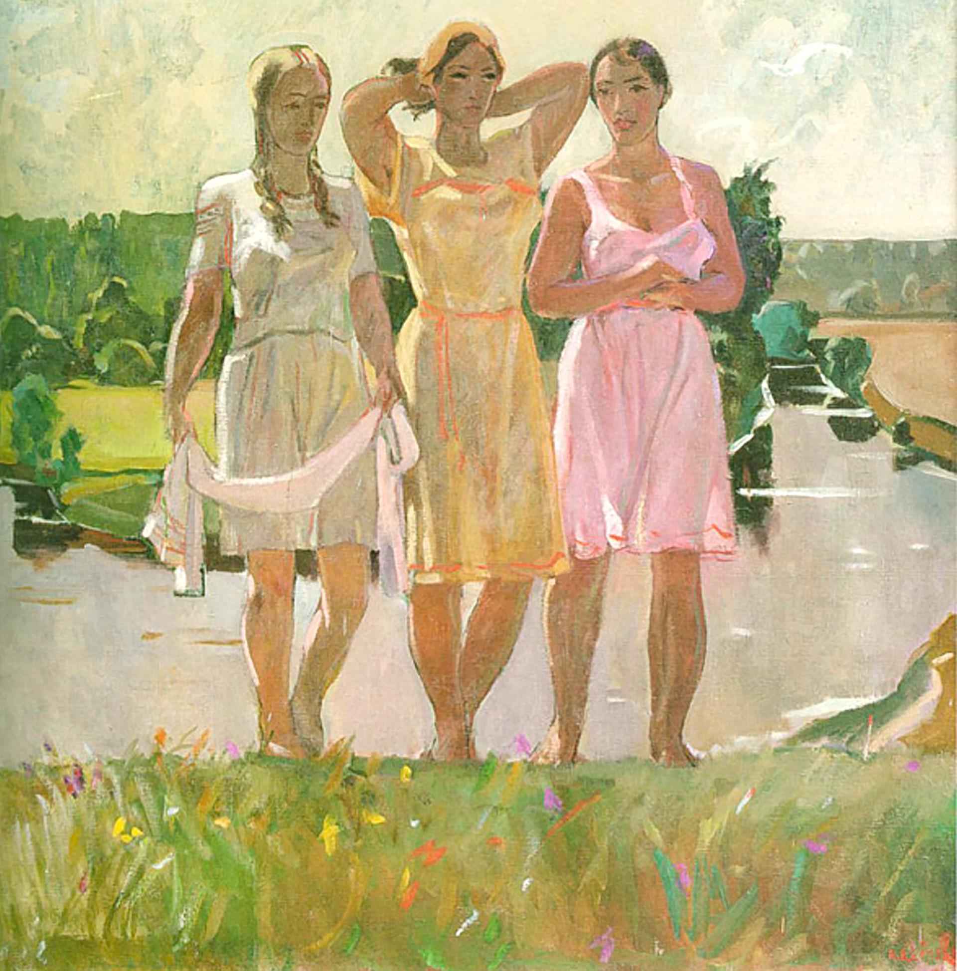 Ode to Spring, 1927, Alexander Deineka
