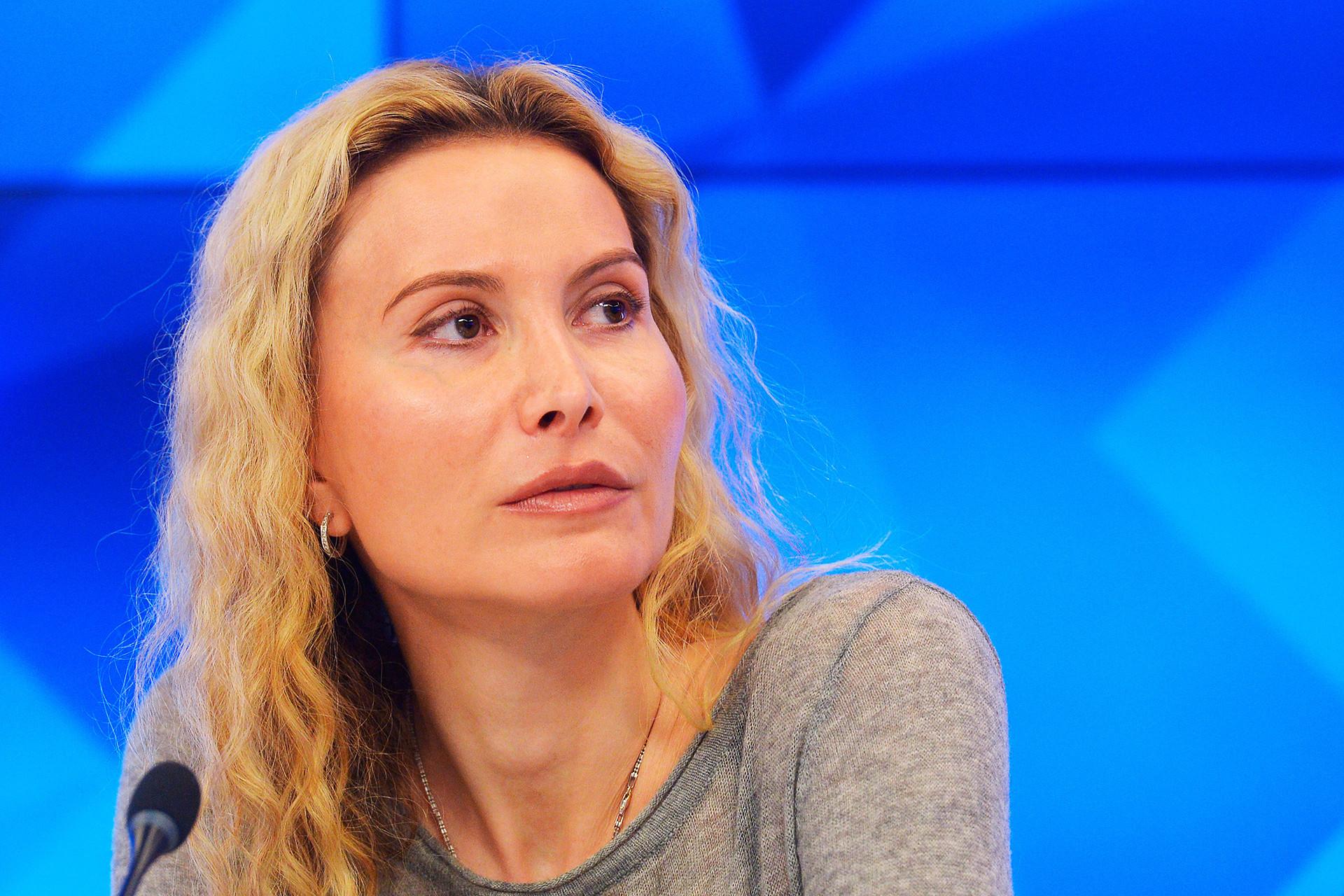 Eteri Tutberidze, a treinadora de Trusova.