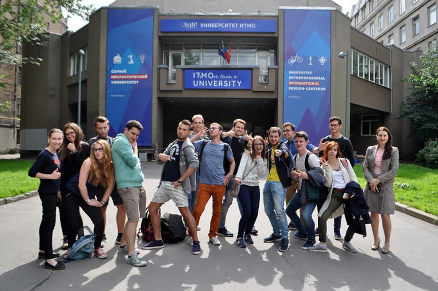 Estudantes da Universidade de São Petersburgo de Tecnologia da Informação, Mecânica e Ótica  (ITMO)