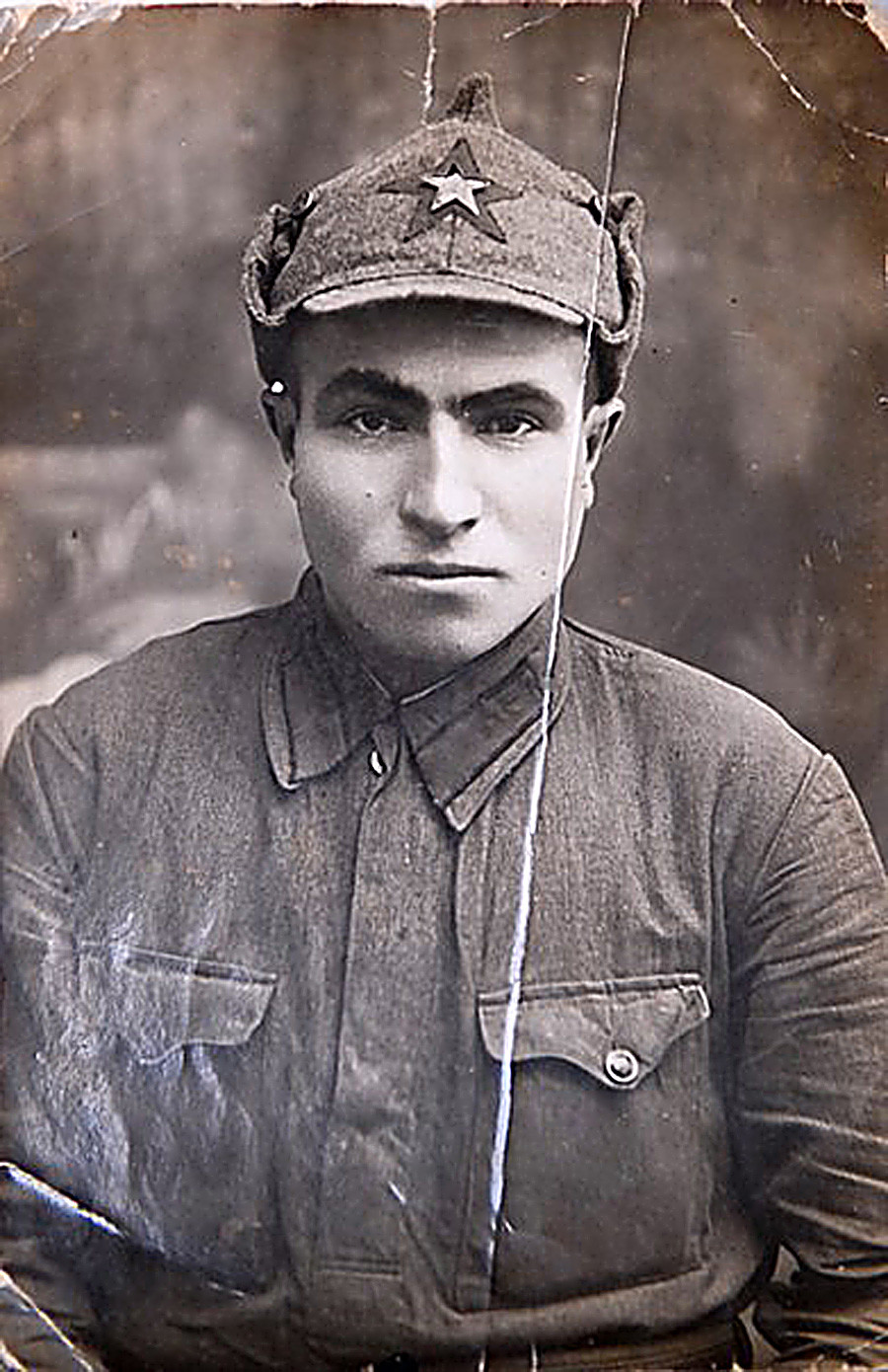 Semyon Hitler, a brave Soviet soldier who spared no effort defending the Motherland from Adolf Hitler's soldiers.