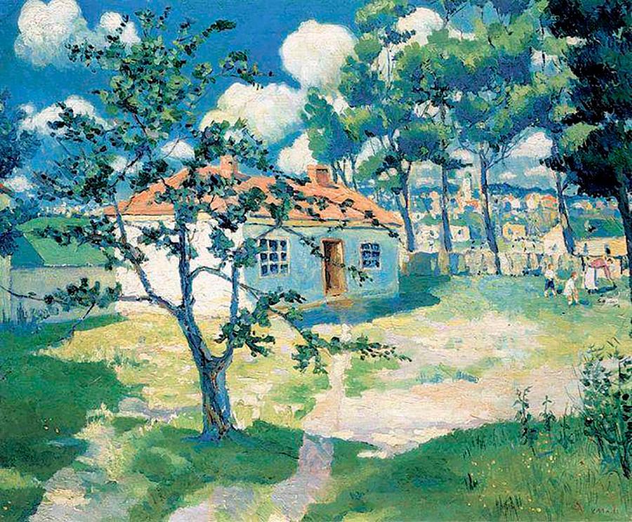 『春』、1929年