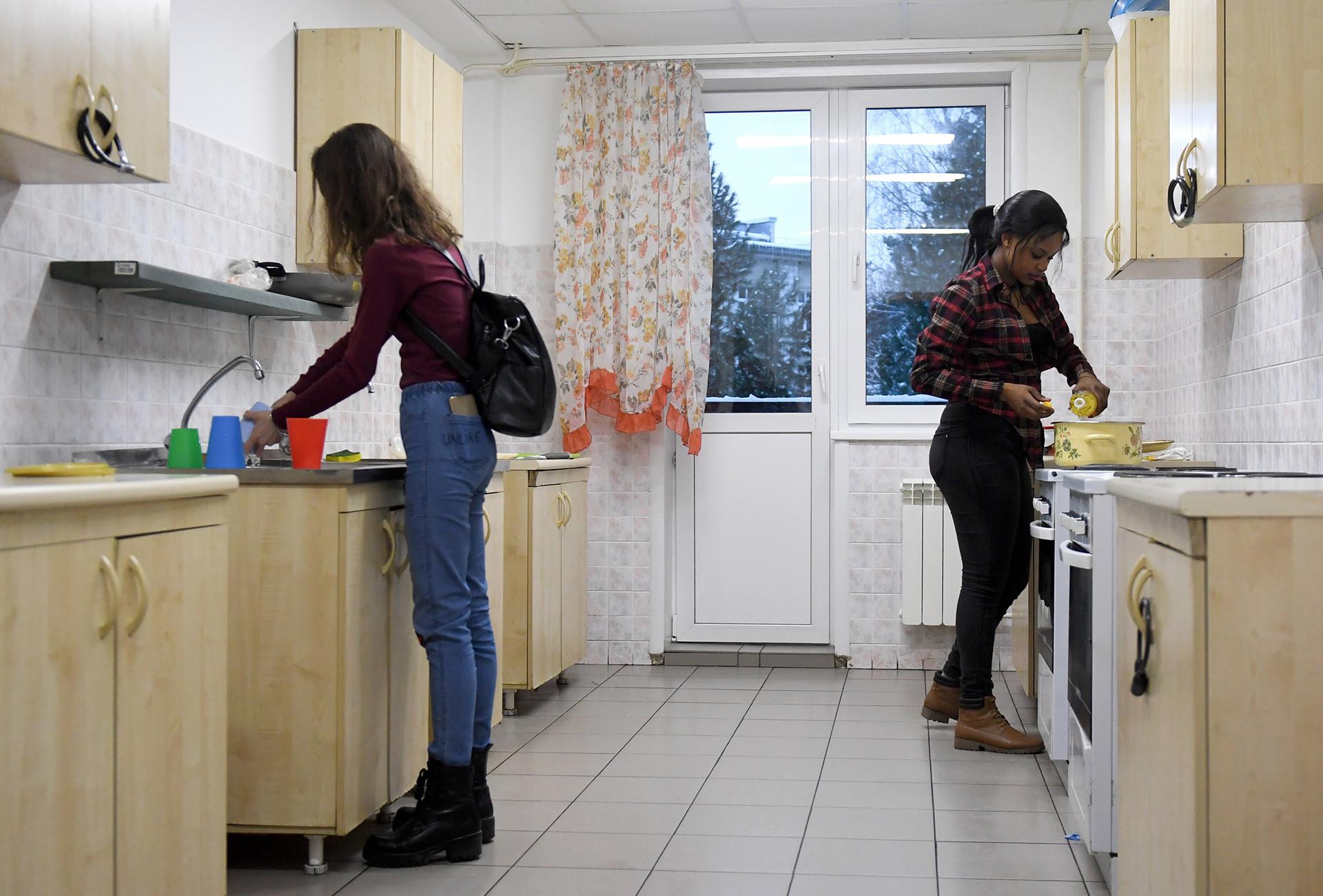Dormitório estudantil na Rússia.