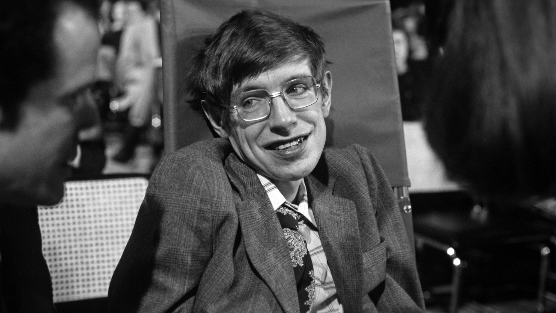 Stephen Hawking, 1979.