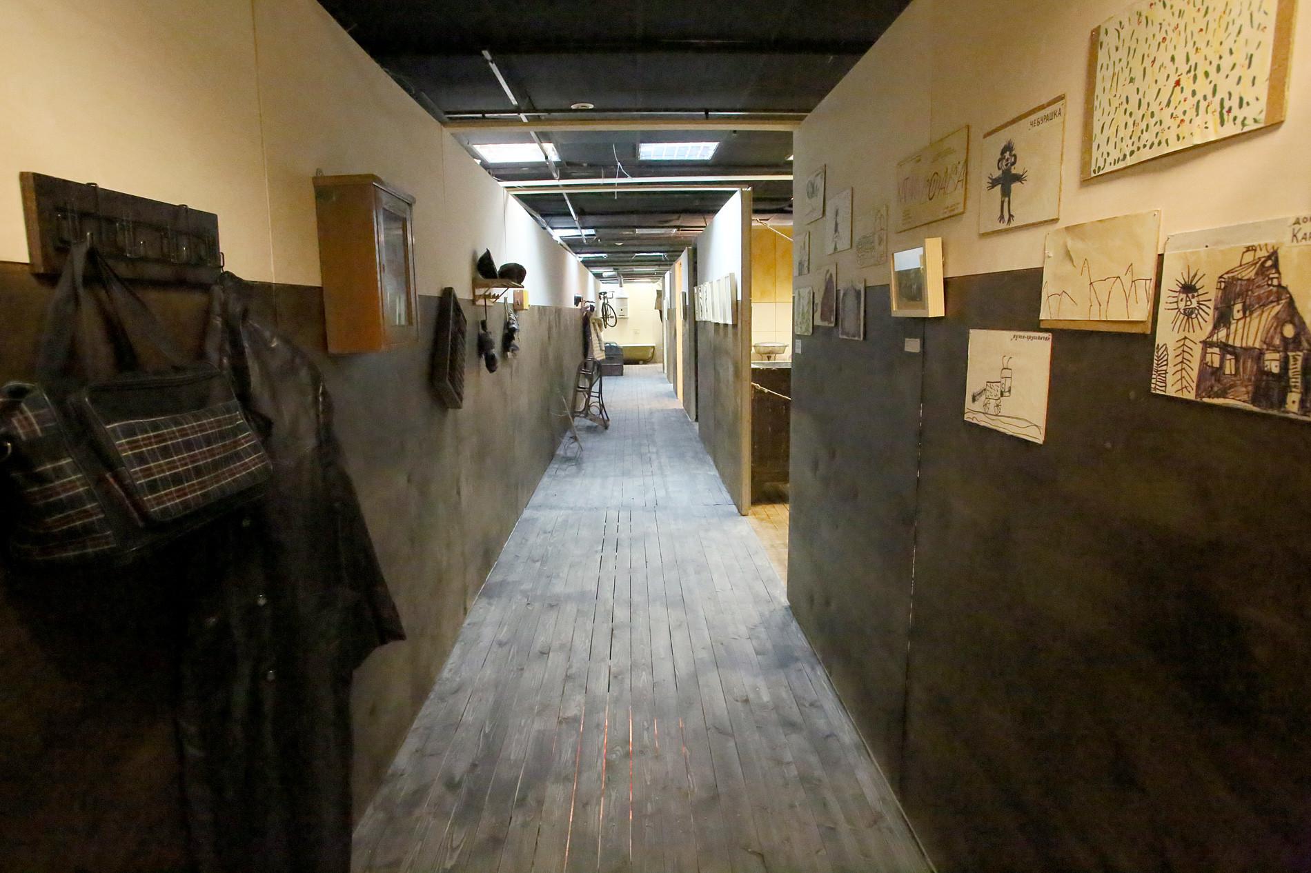 共同住宅の廊下
