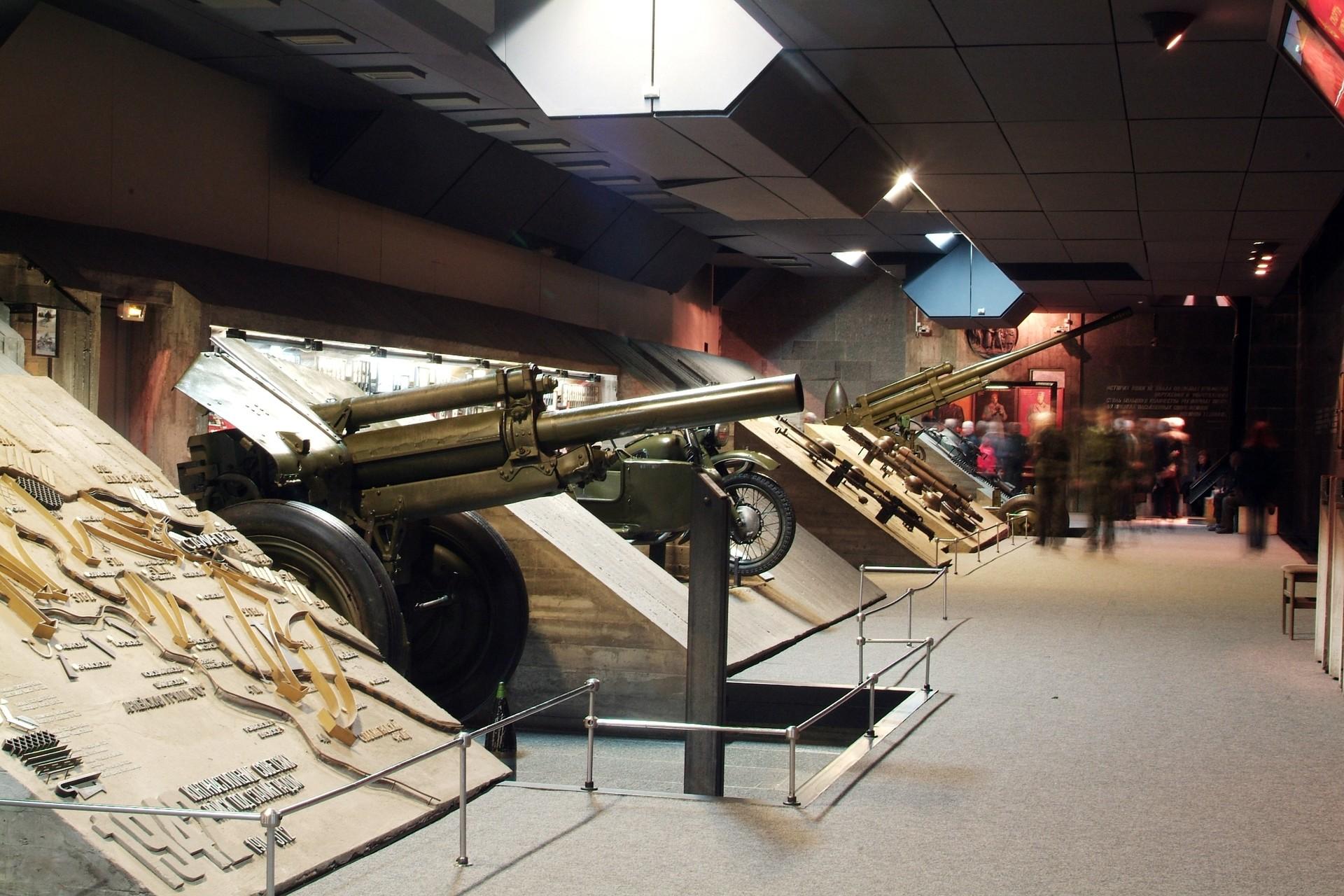 Spominski muzej bitke za Stalingrad.